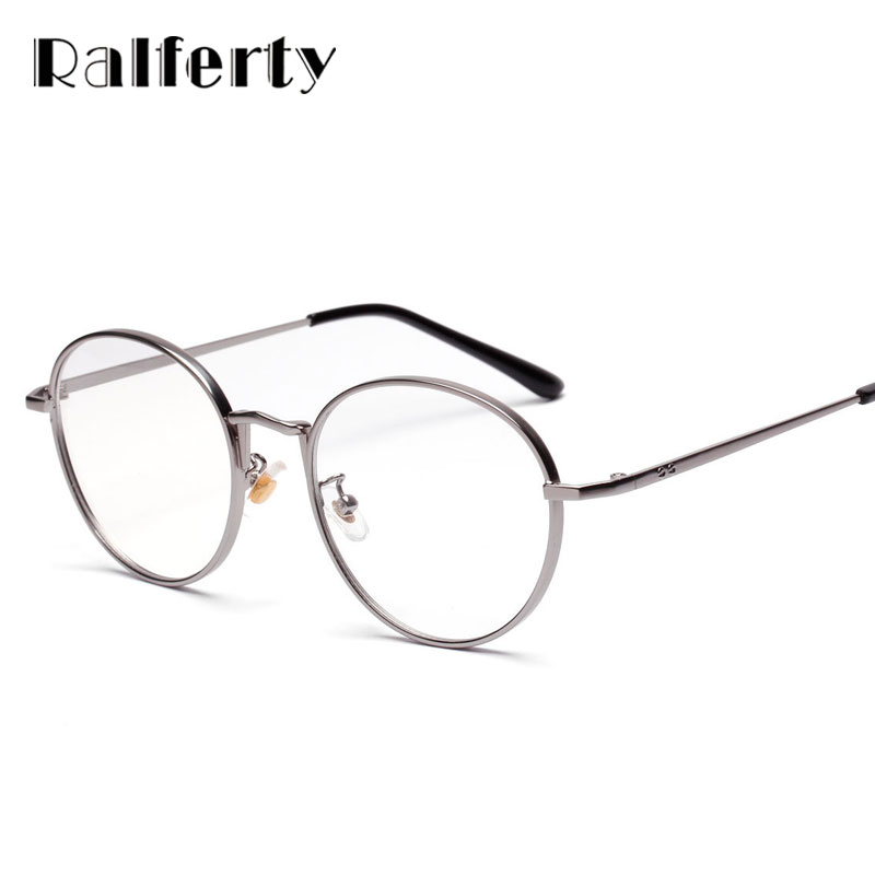 1bce1745107 Retro Vintage Eye Glasses Frames For Women 2018 Transparent Eyewear Clear  Myopia Glasses Spectacles Optical Eyeglasses Frame