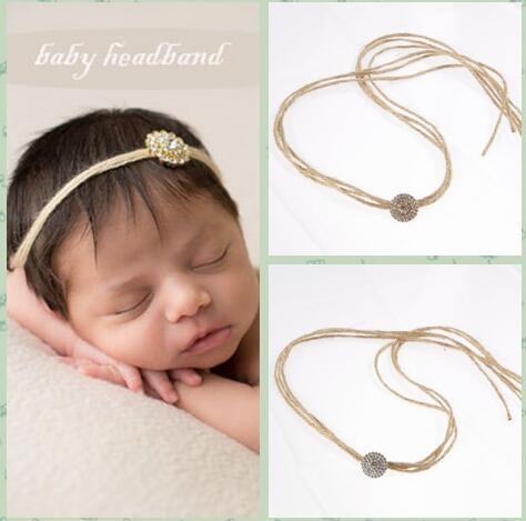 Los bebés del niño atan de nuevo las vendas de cristal Bling - Ropa de bebé