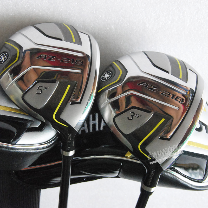 Cooyute New Golf Clubs AZ-218 Golf Fairway Woods set 3/15 5/19 Graphite Golf shaft R or S flex and wood headcover Free shipping new mens cooyute golf clubs honma s 05 4star golf wood complete set driver with fairway woods graphite golf shaft free shipping