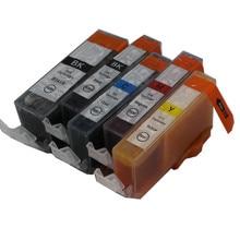 PGI 520BK CLI 521 чернильный картридж Для canon PIXMA PGI-520 IP3600 IP4600 IP4700 MP540 MP550 MP560 MP620 MP630 MX860 MX870 MP640