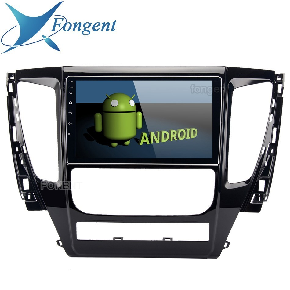 9 Car 1 Din IPS Screen Android 9.0 Gps Navigator For Mitsubishi Pajero Sport 2017 Stereo Entertainment Intelligent Multimedia image