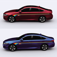 World Datong Both side body sport auto stickers For Honda Accord Auto Body Customized Decal Exterior Accessories