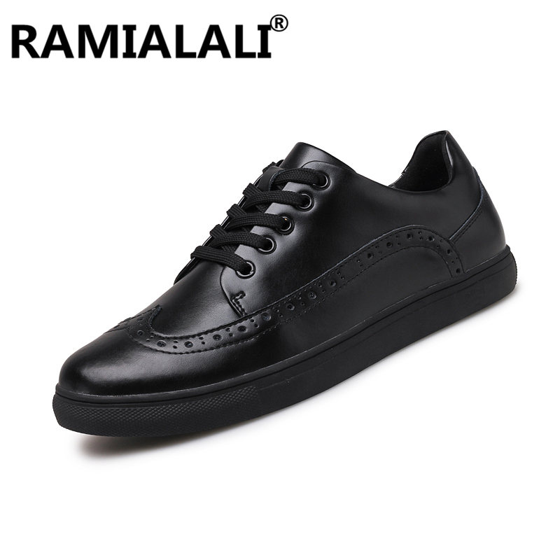 Plus Cuir Respirant Hombre Hommes Para blanc Taille Casual Haute 38 Sneakers Zapatos Noir Chaussures 48 Qualité En Confortable Véritable Oqw5pSS