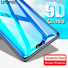 2pcs 9D Tempered Protective Glass For Huawei P Smart 2018 Screen Protector Glass