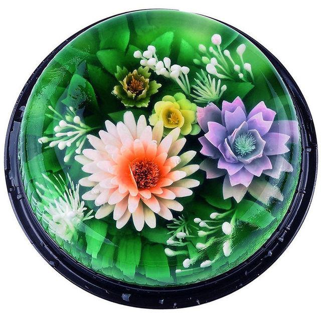 10 PCS/SET 3D Flowers Leaves Jelly Art Tools Jello Art Gelatin Tools Pudding Nozzle Petal Pattern Decoration Tool Hot