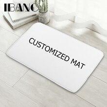 IBANO напольный коврик с принтом, индивидуальные коврики для ванной, кухни, коврики для гостиной, Противоскользящие коврики 40-60/50-80/45-120 см