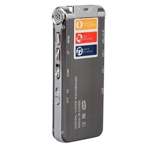 HBUDS MEMTEQ 8 gb Enregistreur Vocal Numérique 8g Dictaphone MP3 Lecteur USB WAV + Micro - 2