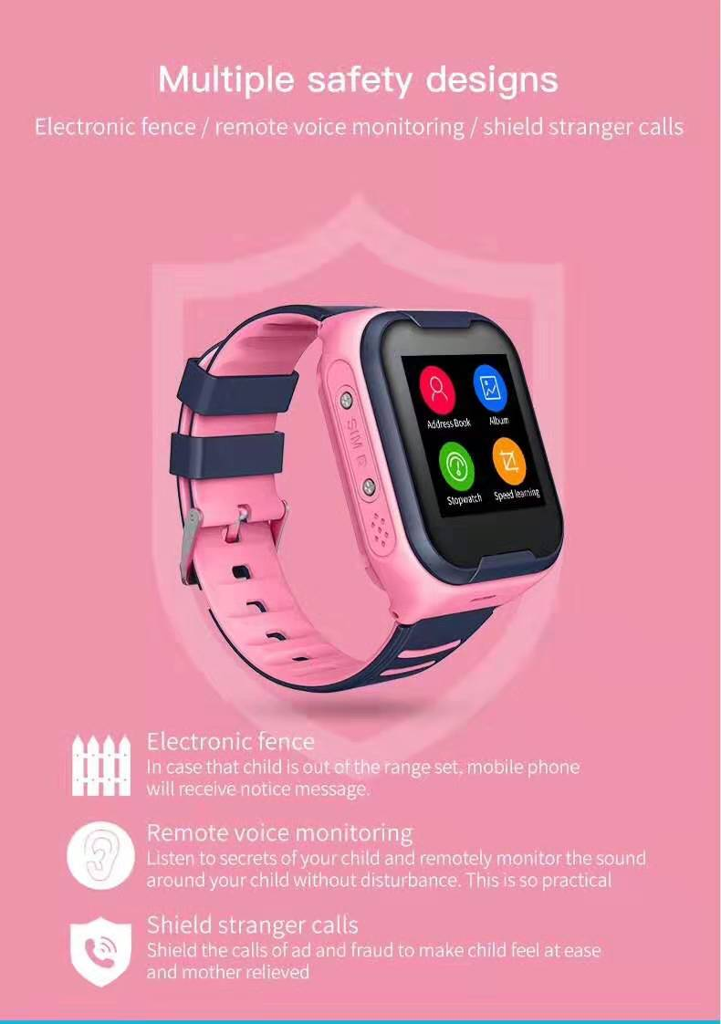 LEMFO G4H 4G Kids Smart Watch With GPS Wifi Ip67 Waterproofness 1.4 Inch Display And Camera 4