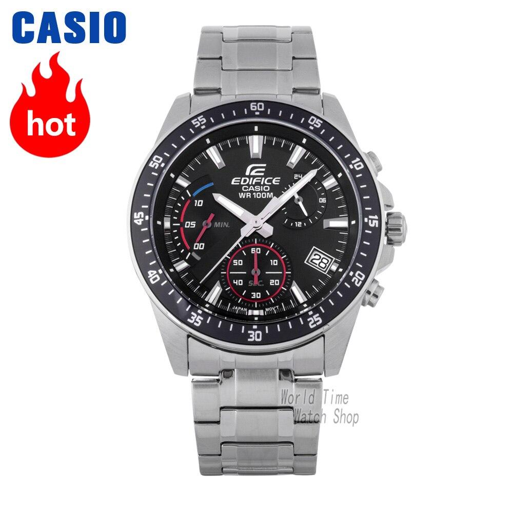 Casio watch Edifice Men's Quartz Sports Watch Highlights Taste Business Pointer Waterproof Watch EFV-540 цена и фото