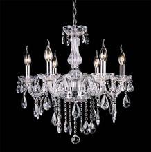 Lamparas Luces colgantes Colgante de Luz Nueva Llegada de La Manera Lámpara de Techo Sala de estar Lámparas de Cristal de la Vela de Iluminación Envío Gratis
