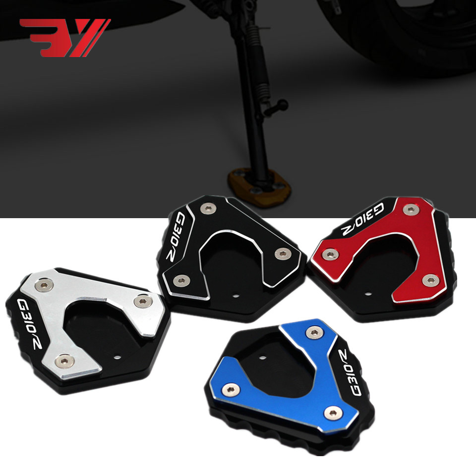BYSPRINT G310 R Motorcycle Accessory CNC Kickstand Foot Side Stand Extension Pad Support Plate For <font><b>BMW</b></font> G310R <font><b>G</b></font> <font><b>310R</b></font> 2017 2018 image