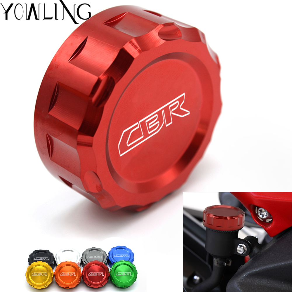 For Honda CBR 1000 RR CBR1000RR C-ABS 2008-2016 Motorcycle CNC Front Clutch Fluid Reservoir Cap Master Cylinder Cover