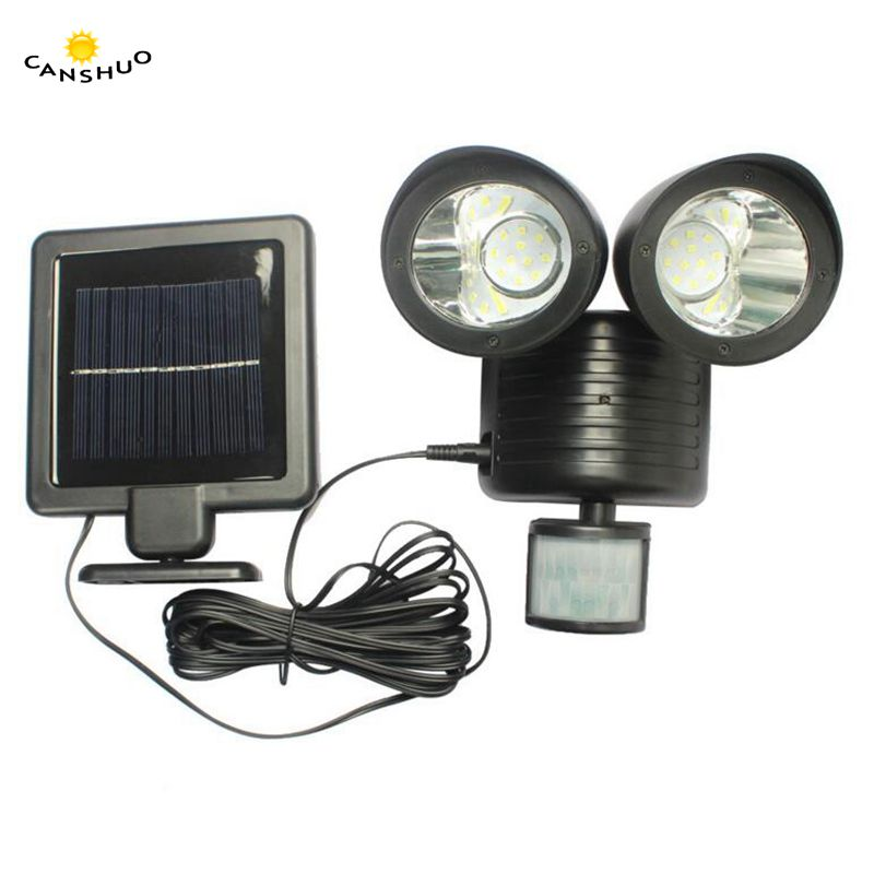 CANSHUO 2.2W 5M Black Wire Solar Powered Portable Led Light Solar Panel Energy Saving Recharged Lamp for Camp Tent Night Fishing 15w 130lm solar powered portable led bulb light solar panel camp tent night fishing light solar energy lamp led lighting