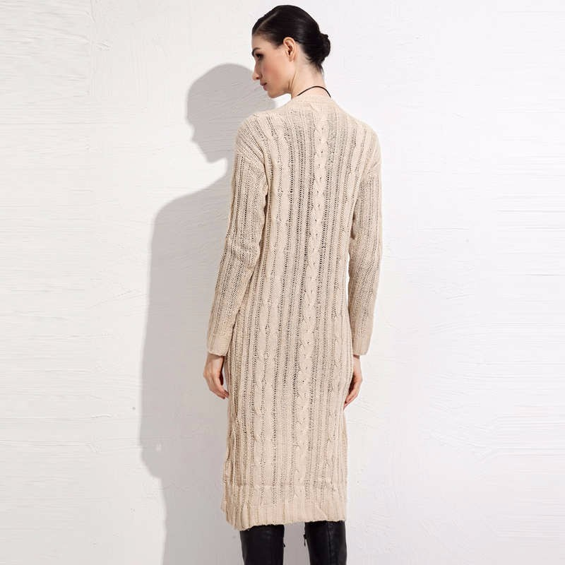 fall winter long cardigan sweater 2