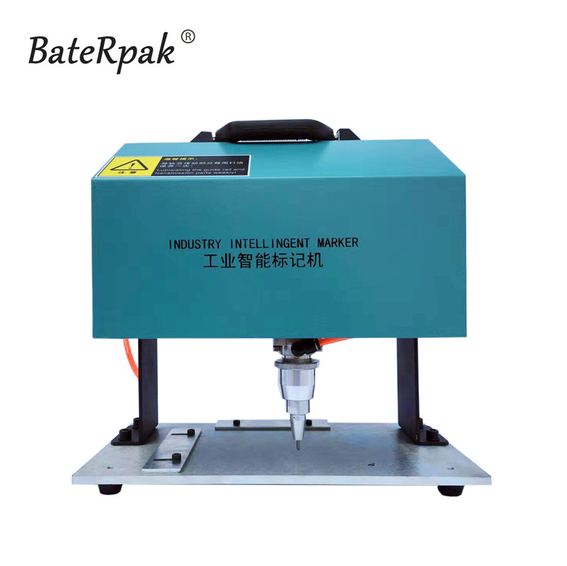 100x180mm Integrated Desktop name plate marking machine,BateRpak Portable industrial tag machine,metal engraving machine