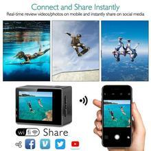 Full HD Action Camera Sport Camcorder Ultra HD 4K WiFi Remote Control Sports Video Camcorder DVR DV Go Waterproof Pro Camera
