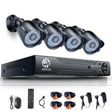 JOOAN 8CH Home Security Camera System 1080N AHD CCTV DVR 4*720P 1280TVL IR Night Vision Outdoor CCTV Vedio Surveillance DVR Kit