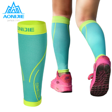 Running-Socks Calf-Support Leg-Football Compression-Leg-Sleeve Cycling AONIJIE E4068