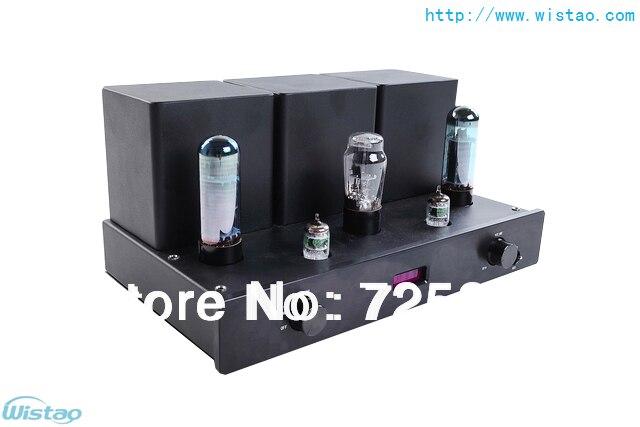 IWISTAO HIFI Tube Amplifier 6N3 * 2 preamp EL34 * 2 Power Amplifier 5Z4 Rectifier SRPP Circuit Pure Tube Amplifier 2 X 8W iwistao 2x20w hifi amplifier stereo