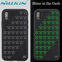Nilkin Per iPhone Caso di X NILLKIN Stella Shell PC + Silicone TPU confine Cellulare Back Cover per Apple iPhone X 10 Capa + pacchetto