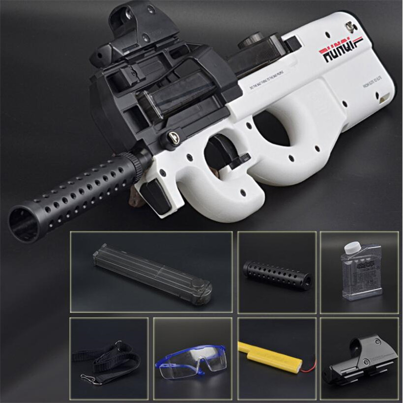 P90 Live CS Electric Toy Gun Orbeez Paintball Assault Snipe Weapon Soft Water Bullet Pistol With Bullets Toys Boy Weapons Toys circular saw stavr pde 210 1800