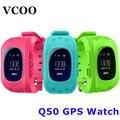 Q50 quente smart watch crianças kid relógio de pulso gsm gprs localizador gps tracker criança guarda de alarme anti-perdida smartwatch para android ios