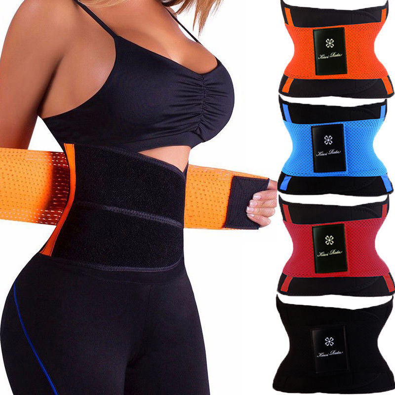 *USPS* Unisex Xtreme Power Belt Hot Slimming Thermo Shaper Waist Trainer Neoprene Belt