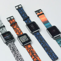 Xiaomi Amazfit Smart Watch Strap Rainbow And Totem Series Colors Youth Edition Original