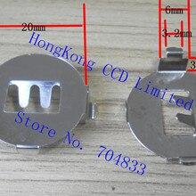 SMD Button Shrapnel 10pcs/Lot Battery Angled CR2032 3V 90-Degree