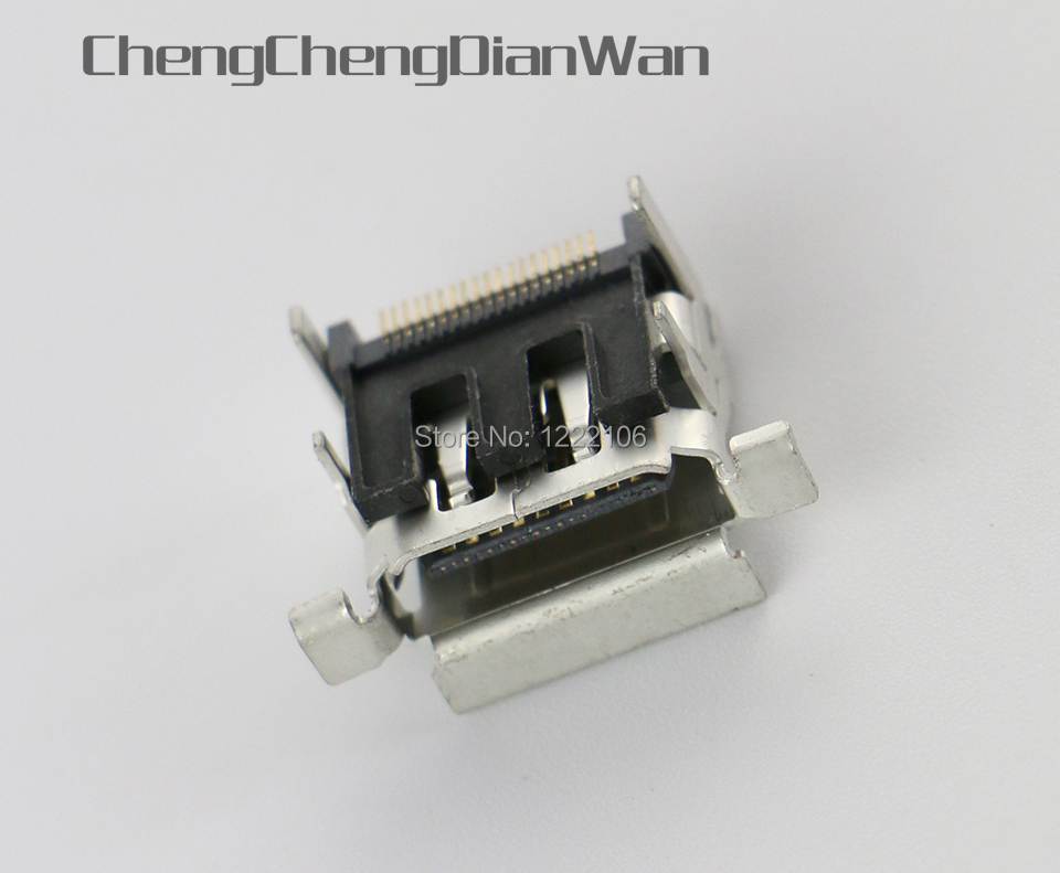 ChengChengDianWan Original Repair Parts HDMI Port Socket Interface Connector Replacement for Xbox One XBOXONE Console 50pcs