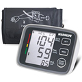 Portable Blood Pressure Monitors Digital Upper Arm Blood Pressure Pulse Monitor Health Care Sphygmomanometer FDA Approved Black