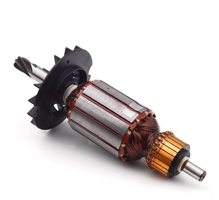 220V/240V GBH 2-22 2-23 RE Armature Rotor Anchor Replacement For BOSCH GBH2-22 RE GBH2-23 RE  Rotary Hammer Spare Parts 6 Teeth