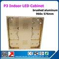 960 x 576 мм P3 алюминиевый корпус крытый из светодиодов витрины также поставляем p5, P6, P8, P10 открытый из светодиодов витрины
