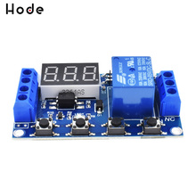 Micro USB 5V Digital LED Display Trigger Automation Delay Cycle Timer Control Switch Relay
