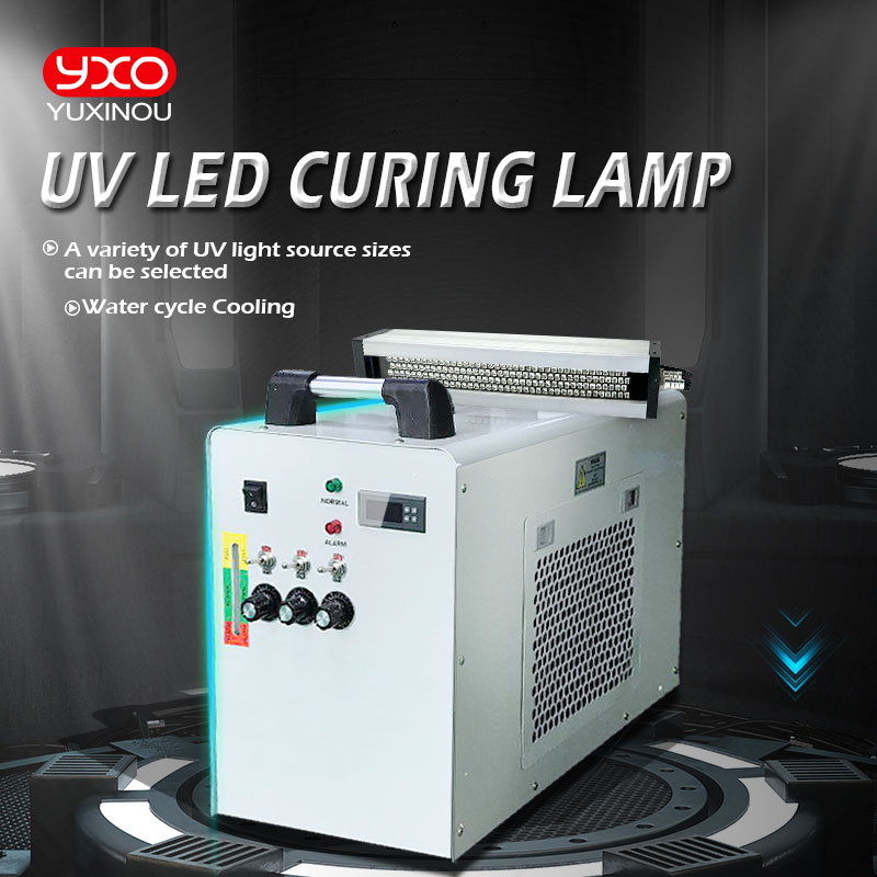 1000W Water Cooling System Lamp LED UV 395nm Curing For Flatbed Printer Drying System Curing Machine LED Machine Offset
