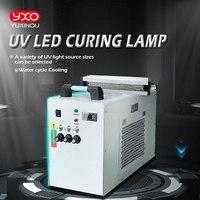 1000 W водяного охлаждения системная лампа Светодиодный УФ 395nm отверждения для планшетного принтера сушки Системы отверждения машина светоди...