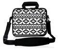 13 15 17 17.3 дюймов неопрена водонепроницаемая сумка для ноутбука нетбук сумки мужчины сумки поддержка собственный логотип черный & белый