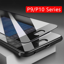 Case On P10 Lite P9 Light Full Cover Tempered Glass Screen Protector For Huawei P 10 9 P10lite P9lite Safety Phone Film Tremp 9h(China)