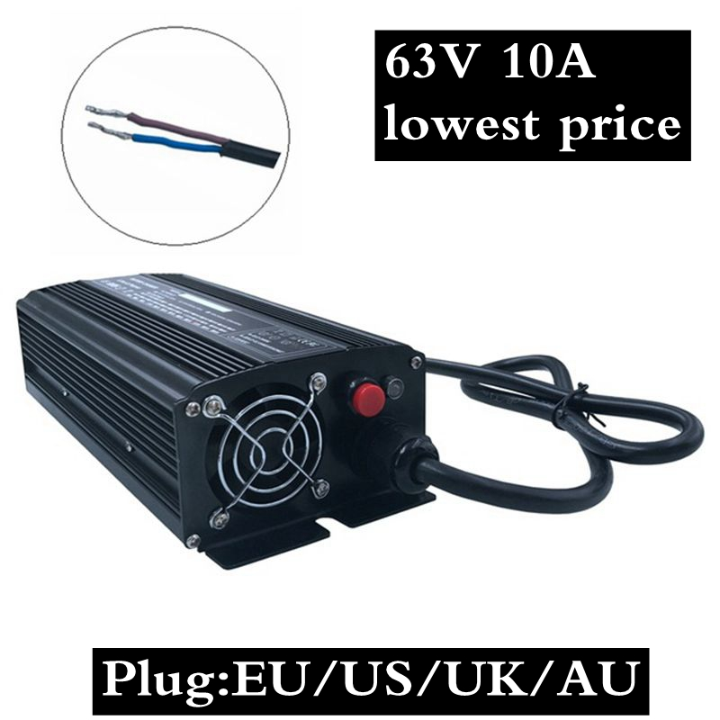1PC lowest price 672W 63V 10A Charger for 15S 61.5V Lithium Li-ion Battery Charger bike bicycle electric bike battery  1PC lowest price 672W 63V 10A Charger for 15S 61.5V Lithium Li-ion Battery Charger bike bicycle electric bike battery