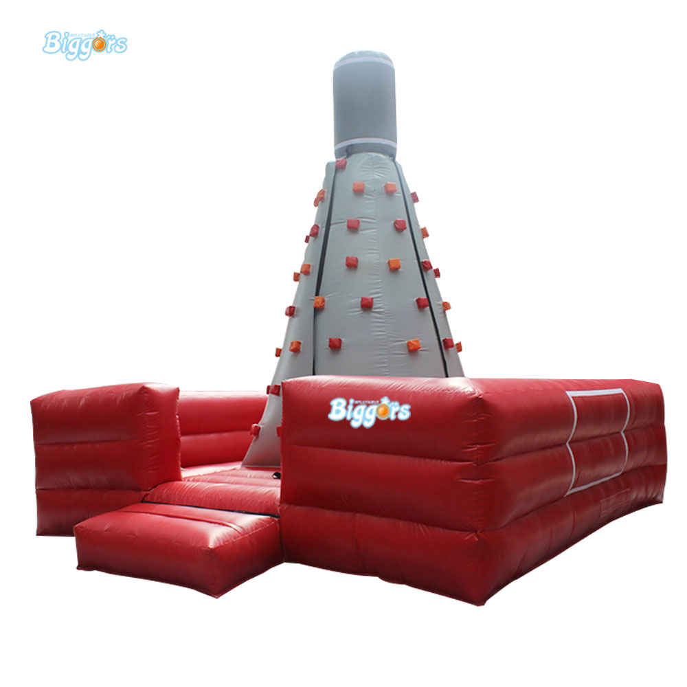 Inflatable Biggors High Quality Inflatable Climbing Town Kids Toy Climbing Wall Games For Rental