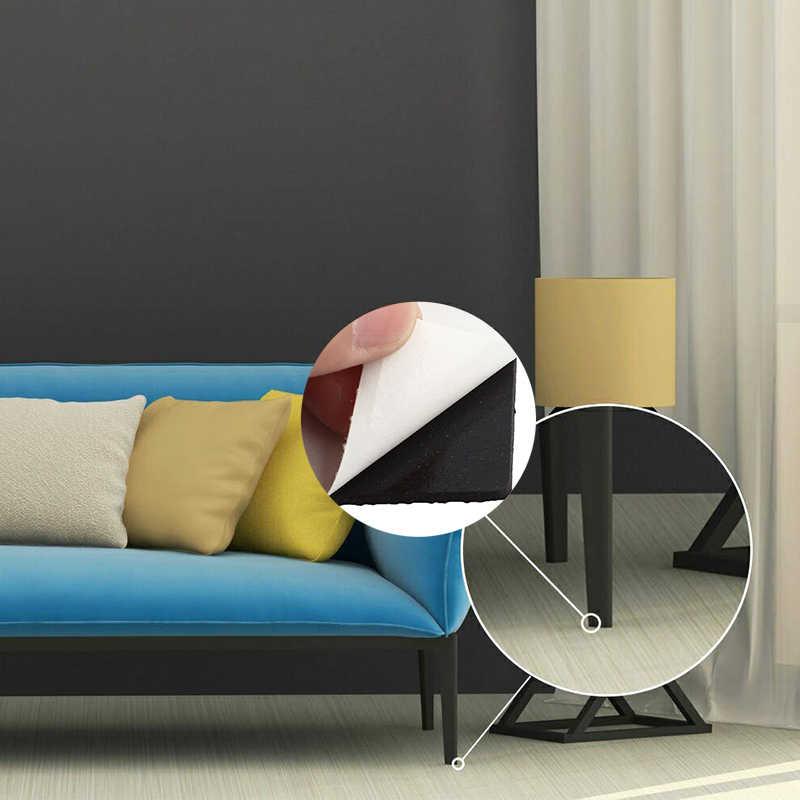 8 pçs/set Perna Da Cadeira Tampas Protetor de perna da Cadeira capas de Móveis perna da Mesa Cobre Rodada Círculo Inferior para Rodada Retangular quadrado