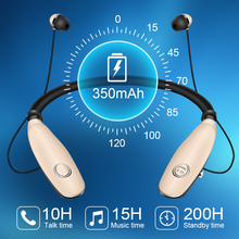 Wireless Bluetooth Bass Sound Headset with Microphone