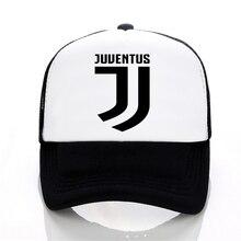 Juventus print Baseball caps Summer Adjustable Mesh cap fans club Trucker Cap Casual Italian Gianluigi Buffon Tees hats