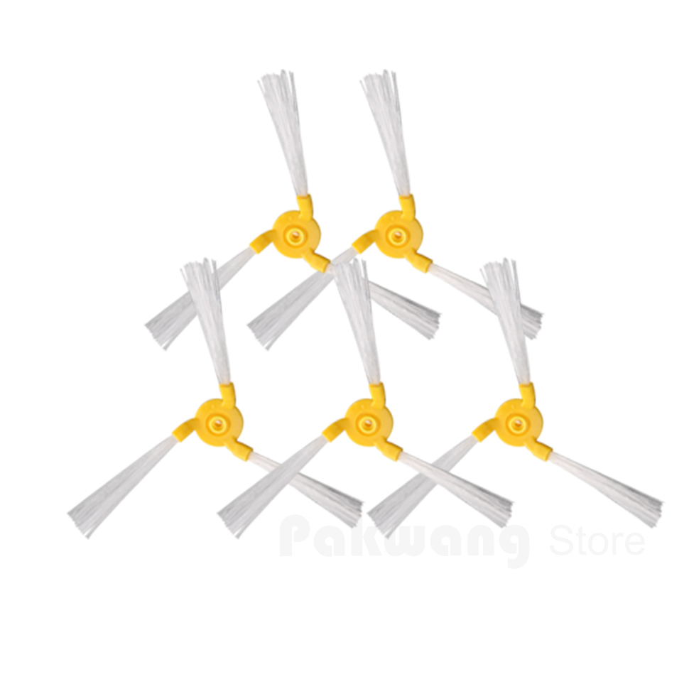 Original A325,A335,A338 Robot  Vacuum Cleaner Side brush 5 pcs, Vacuum cleaner parts for a320 a325 a335 a336 a330 a338 robot vacuum cleaner side brush 10pcs pack cleaning tool replacement parts