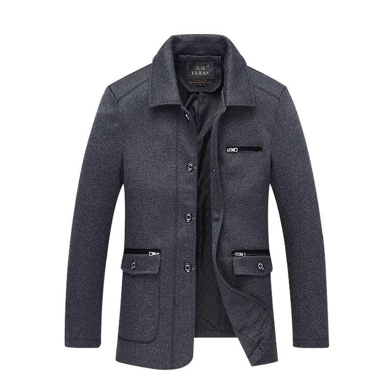 Goedkope Groothandel 2019 Nieuwe Herfst Winter Hot Selling Mannen Fashion Casual Werkkleding Mooie Jas MC48