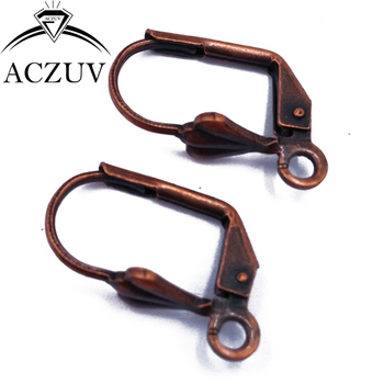 1000piece Antique Copper 10x17mm French Leverback Earring Hooks Earwires Earring Clasps Jewelry Findings Accessories FLBE006