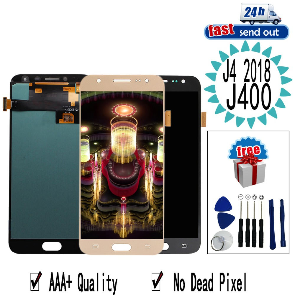 J400 LCD For <font><b>Samsung</b></font> <font><b>Galaxy</b></font> <font><b>J4</b></font> 2018 J400 SM-J400 LCD <font><b>Display</b></font> LCD <font><b>Display</b></font> j400F j400DS Touch Screen Tested Digitizer Assembly image
