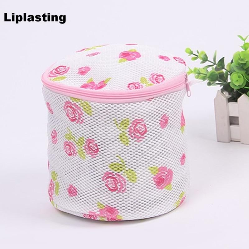 Liplasting Women Hosiery Bra Washing Lingerie Wash Foldable Protecting Mesh Bag Aid Laundry Saver Free Shipping
