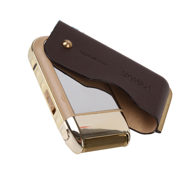 Kemei Аккумуляторная мини Портативный Float Поршневых электрическая бритва для бритья Бритвы Мужчины Уход За Кожей Лица эпилятор триммер для бороды 36017