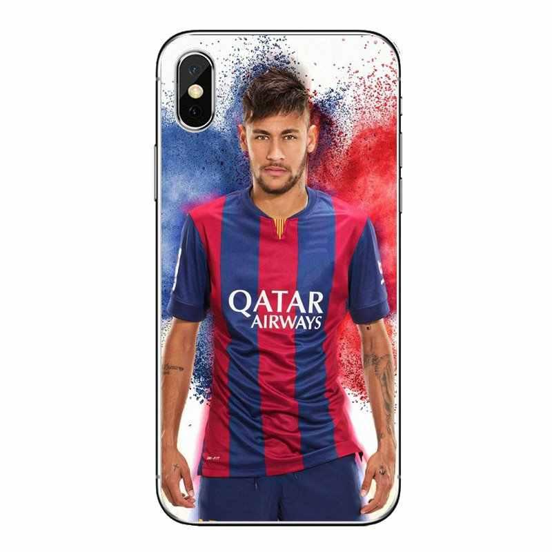 Zachte Transparante Gevallen Covers Voor Nokia 2 3 5 6 8 9 230 3310 2.1 3.1 5.1 7 Plus Voetbal brazilië Barcelona Star neymar jr